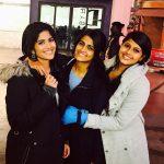 Megha Akash, girls, gang, friend