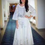 Megha Akash, hd, white dress, full size