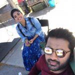 Megha Akash, nithiin, shooting, lie telugu movie