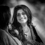 Megha Akash, smile, wallpaper, black