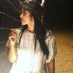 Megha Akash, super, white dress, lie, telugu heroine