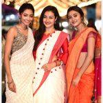 Megha Chowdhury, Varma Heroine, function, saree