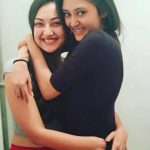 Megha Chowdhury, Varma Heroine, hug, friend