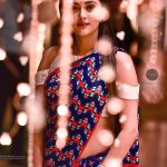 Megha Chowdhury, Varma Heroine, trendy, saree