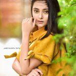 Megha Chowdhury, Varma Heroine, yellow, fancy