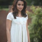 Mohini, Trisha Krishnan, White Dress