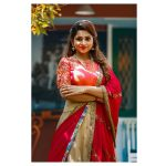 Nakshathra, red saree, favorable