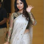 Nivetha Pethuraj, best-quality, saree, full size