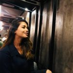 Nivetha Pethuraj, first-class, black dress