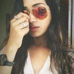 Nivetha Pethuraj, galss, face, hair style