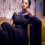Nivetha Pethuraj, photoshoot, black dress
