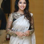 Nivetha Pethuraj, saree, exclusive