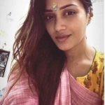 Nivetha Pethuraj, traditional, selfie, hd