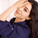 Parvatii Nair, photoshoot, blue dress