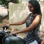 Priya Bhavani Shankar, bike, glass, hair style