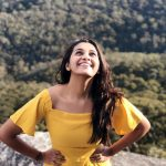 Priya Bhavani Shankar, tour, yellow dress