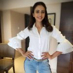 Rakul Preet Singh,  white dress