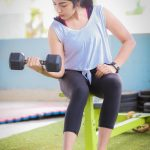 Ramya Subramanian, gym, workout, full