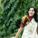 Ramya Subramanian, ramya vj, cover picture, wallpaper, saree