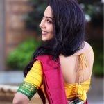 Ramya Subramanian, saree, glamour, traditional dress