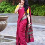 Ramya Subramanian, wallpaper, recent picture, saree