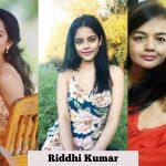 Riddhi Kumar, 2018, hd, collage, lover heroine, telugu actress, glamour