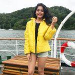 Riddhi Kumar, full size, glamour, yellow dress