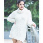 Riddhi Kumar, photoshoot, white dress, tollywood