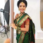 Riddhi Kumar, saree, traditional look, telugu