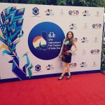 Saidah Jules at iffi red carpet (1)