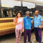 Sakshi Agarwal, bus driver
