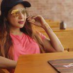 Sakshi Agarwal, coolers, cap
