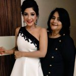 Sakshi Agarwal, friend, function, white dress