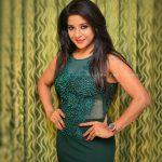 Sakshi Agarwal, green dress, pose