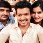 Sathish, vijay, samantha, selfie