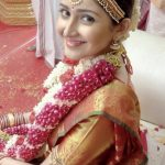Sayyeshaa, saree, kadaikutty singam, marriage