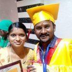 Senthil ganesh, Rajalakshmi, graduate
