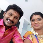 Senthil ganesh, Rajalakshmi, title winner, selfie
