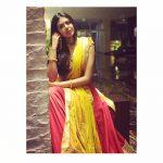 Shivani Rajashekar, yellow chudi