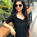 Suza Kumar, fantastic, black dress