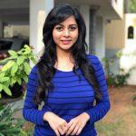 Suza Kumar, slim, smile, blue dress