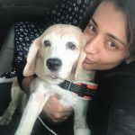 Trisha Krishnan, dog, kissable