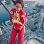 Trisha Krishnan, glamorous, air, flying