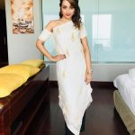 Trisha Krishnan, romantic, white dress