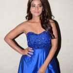 Yamini Bhaskar, blue dress, event