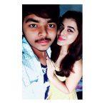 Yamini Bhaskar, friend, hug