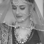 angira dhar in black and white traditional photoshoot curvy small waist  (1)