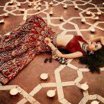 angira dhar traditional holi celeb pic (2)