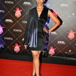 anupriya goenka  red carpet femina black dress