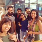 anupriya goenka  selfie group with friends
